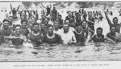 nuie maori swimming slideshow